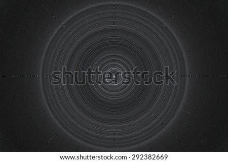 abstract spiral of black and white for background used - stock photo