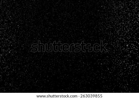 abstract splashes of water on a black background - stock photo