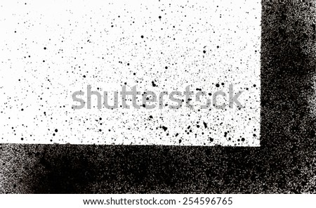 abstract spray paint for backgrounds - stock photo