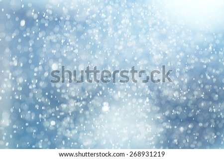 abstract spring rain background  - stock photo