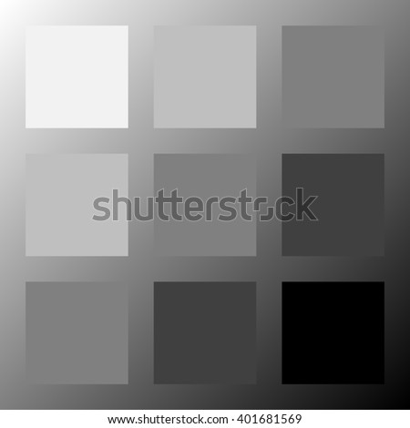 Abstract square background - gold - rasterized version