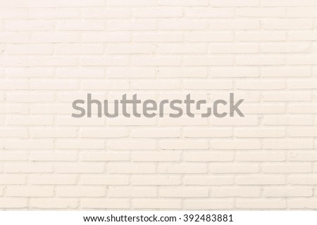 Abstract square cream brick wall background. City, Interior, Clay, Art, Back, Row, New, Retro, Old, Vintage, Texture, Design, Home, Rock, Path, Grey, Gray, Pool, Room, Floor, Tile, Clean, Pure, Empty. - stock photo