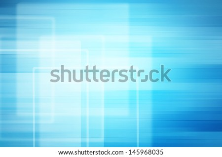 abstract square on blue background