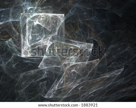 Abstract squares background - stock photo