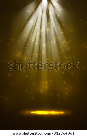 Abstract stage light background - stock photo