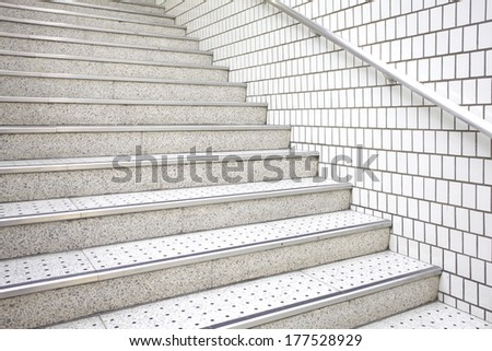 Abstract stairs in indoor  - stock photo