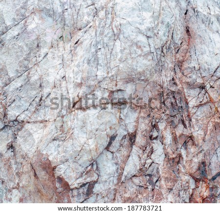 Abstract stone texture with cracked, close up. - stock photo
