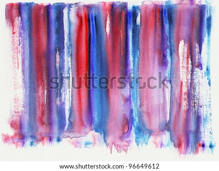 Abstract stripe watercolor : illustration high-resolution image. - stock photo