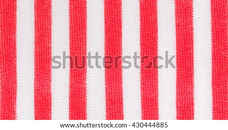 Abstract striped fabric textured background. Seamless pattern - stock photo