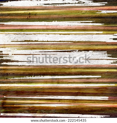 abstract stripes with wood texture - stock photo