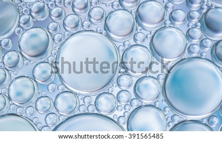 Abstract style image of water bubbles befit with background,backdrop,wallpaper,display for your products and everything artwork design. - stock photo