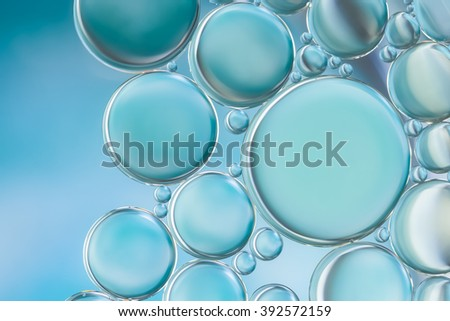Abstract style image of water bubbles befit with background,backdrop,wallpaper,display for your products and everything artwork design.