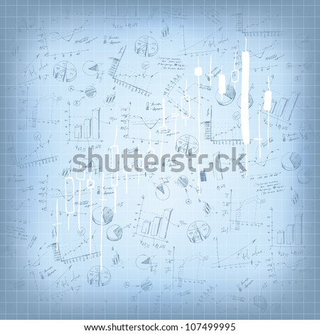 Abstract successful business background. Raster version. - stock photo