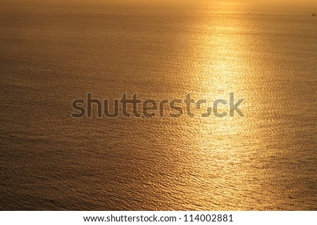 Abstract sunset. Background.