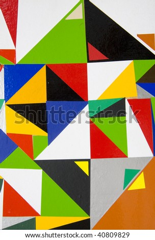 Abstract suprematic background - stock photo