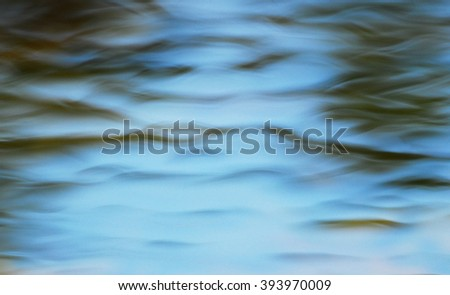 Abstract  surface of water - stock photo
