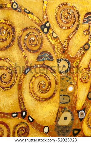 abstract swirl, background - stock photo