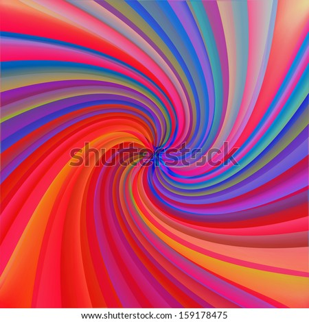 abstract swirl background illustration - stock photo