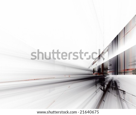 Abstract techno design - stock photo