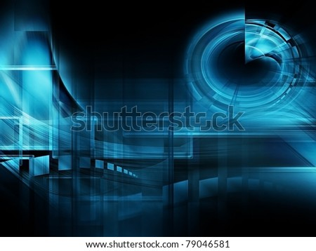 abstract technology background - computer generated  for your projects