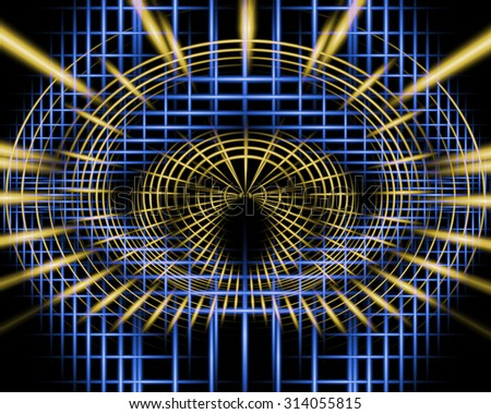 Abstract technology background for computer graphics, websites, business.