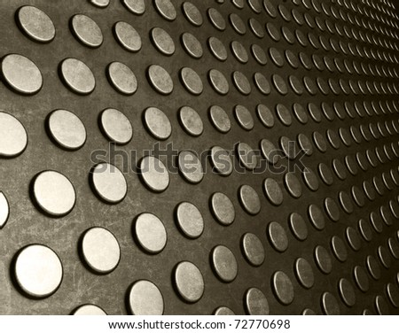 Abstract technology circles background - stock photo