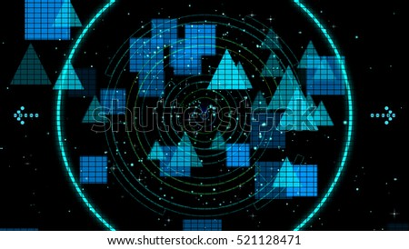 abstract technology,futuristic background