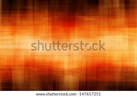 Abstract technology on orange background. - stock photo