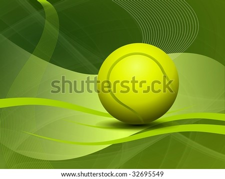 Abstract tennis Background