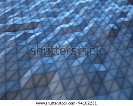 abstract tessellated background - stock photo