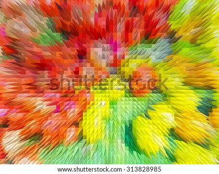 abstract texture colorful squares background. Colorful abstract background made with colorful filters. - stock photo