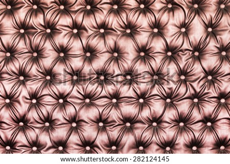 Abstract texture leather upholstery magnificent couch - stock photo