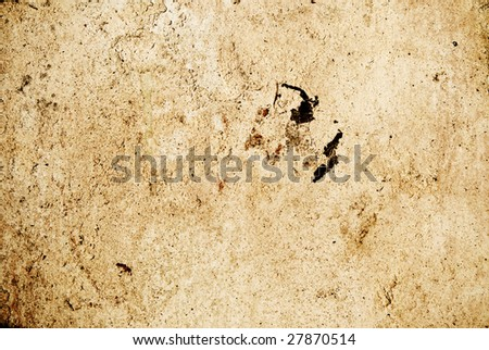 Abstract texture of a grunge old wall
