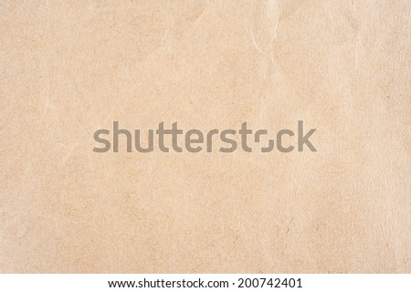 abstract texture of light brown recycled paper - stock photo