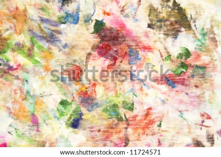 Abstract texture painting