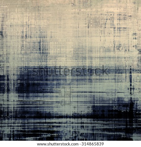 Abstract textured background designed in grunge style. With different color patterns: yellow (beige); blue; gray; black - stock photo
