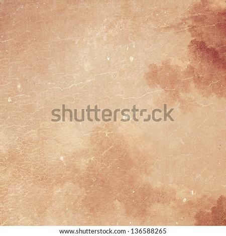 Abstract textured background. For creative vintage layout design, grunge illustrations, and web site wallpaper or texture
