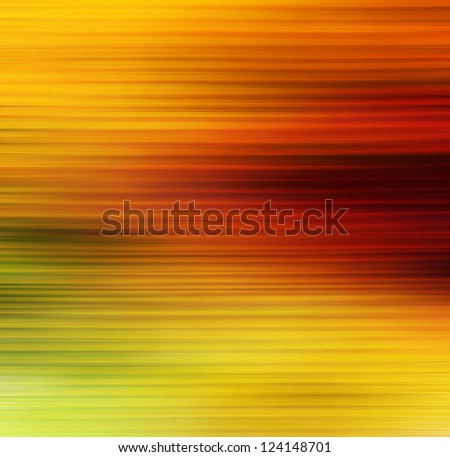 Abstract textured background: red, brown, and green patterns on yellow backdrop. For art texture, grunge design, and vintage paper / border frame - stock photo