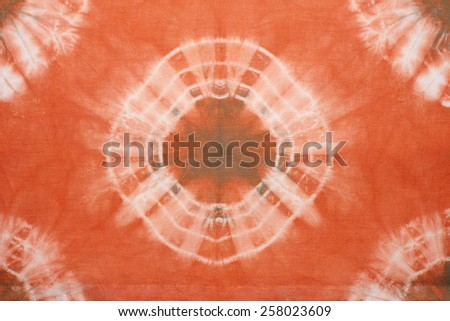 Abstract tie dyed fabric background  - stock photo