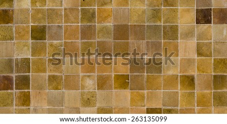 Abstract tiles background.