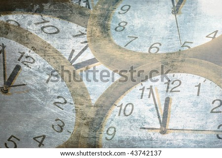 abstract time concept - stock photo