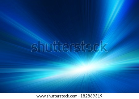 Abstract toned image of high speed on night road. - stock photo