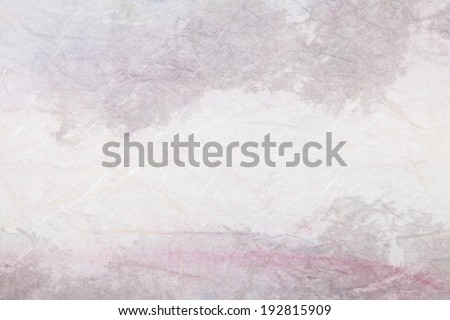 abstract Traditional Chinese painting art (mountain landscape) on paper texture with empty copy space, great for background
