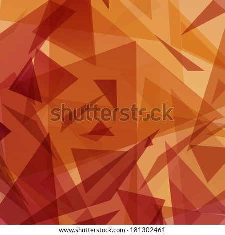 Abstract Triangle Background,  Raster Version - stock photo