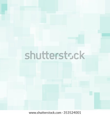 Abstract Triangle Polygonal Geometrical Background, Illustration. Geometric design frame for business presentations, flyers, banners, brochures leaflets, web. Light Blue teal tile pattern - stock photo