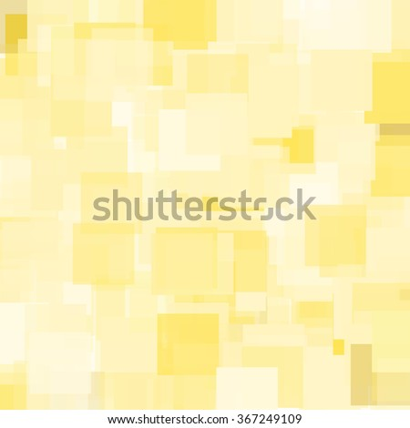 Abstract Triangle Polygonal Geometrical Background, Illustration. Geometric design frame for business presentations, flyers, banners, brochures leaflets, web. Summer gold yellow tile pattern - stock photo