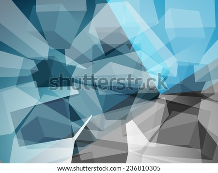 Abstract triangles background. - stock photo