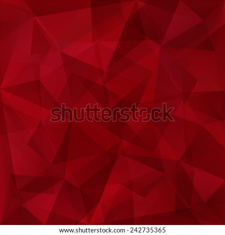 Abstract triangles background in magenta tones.Raster version. - stock photo