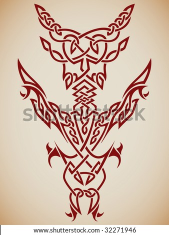 Vector tattoo heart stock vector 83871301 shutterstock for Gilded heart tattoo