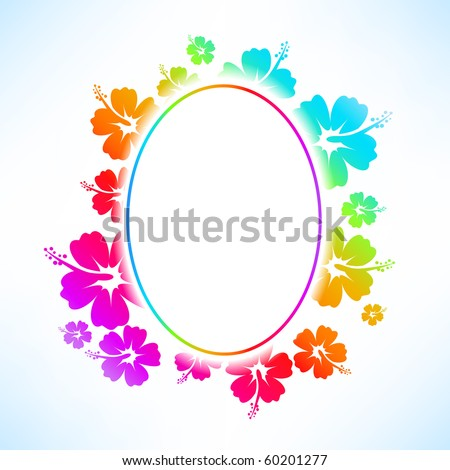 Abstract tropical background. Raster version - stock photo